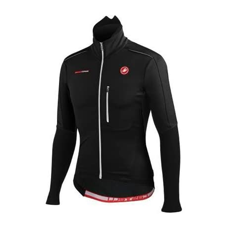 Castelli 2015 Men's Trasparente Due Wind FZ Long Sleeve Cycling Jersey - A12506