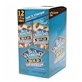 Blue Diamond Bold Almonds, 1.5 oz tubes, Salt n Vinegar, 12 tubes