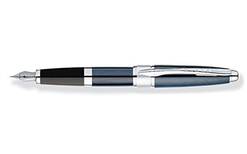 Streamline ballpoint pen turquoise white black silver plated