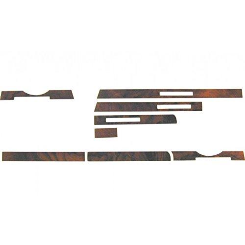 mercedes-benz-sl-107-1986-89-burl-wood-interior-dash-strip-set