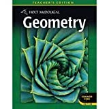 Holt McDougal Geometry, Teachers Edition (Common Core Edition)