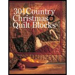 301 Country Christmas Quilt Blocks (03) by Hiney, Mary Jo [Paperback (2003)]