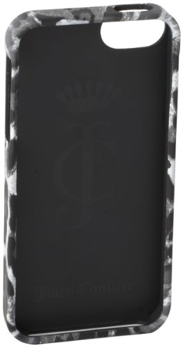 Special Sale Juicy Couture Leopard Iphone 5 Cell Phone Case,Grey,One Size