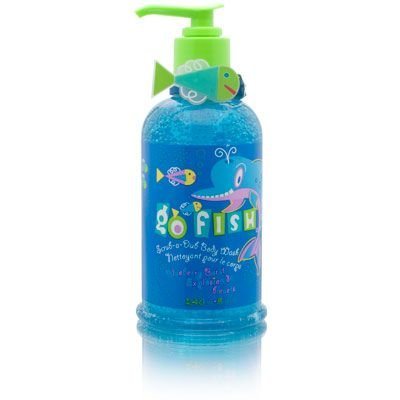Go Fish Dolphin Blueberry Burst Explosion 240ml/8oz Scrub-A-Dub Body Wash