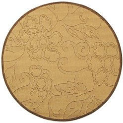 Apple Blossom Outdoor Area Rug - 4' x 5'7