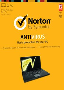 Symantec Norton Antivirus 2013 1User