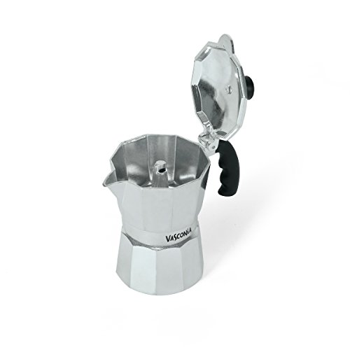 Vasconia 5034721 3 Cup Coffee Espresso Pot, Medium