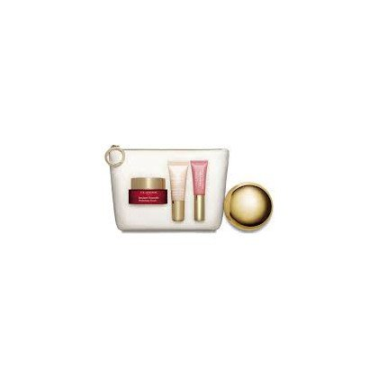 Clarins Instant Confezione Regalo 15ml Instant Smoothing Touch + 10ml Instant Light Radiant Boosting Complex Base + 5ml Instant Light Natural Lip Perfector