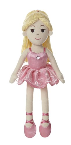 "Aurora World Ballerina 14.5"" Doll with Blonde Hair"