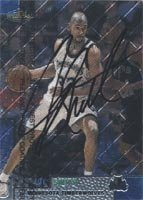 Joe Smith Minnesota Timberwolves 1999 Topps Finest Autographed Hand Signed Trading... by Hall+of+Fame+Memorabilia