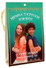 EARTH HENNA for Kids Henna Kit