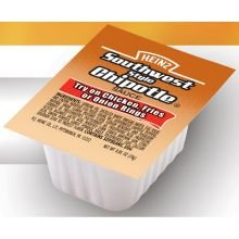 Heinz Southwest Style Chipotle Dipping Sauce, 0.85 Ounce -- 100 Per Case.