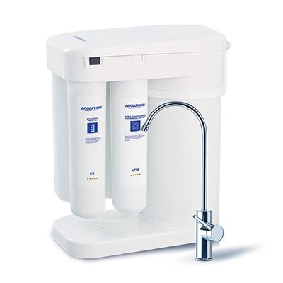 Purchase Aquaphor DWM-101 Compact RO Reverse Osmosis Water Filter System with Built In Airless Stora...