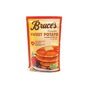 Bruce's Sweet Potato Pancake Mix- 6oz Pouch (Pack of 12)