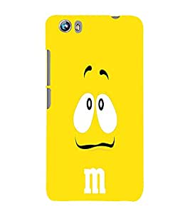 EPICCASE Yellow eyes cartoon Mobile Back Case Cover For Micromax Canvas Fire 4 A107 (Designer Case)