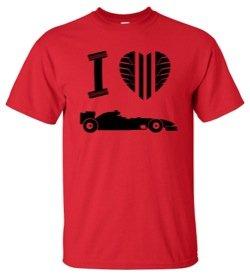 I Love Formula 1 T-Shirt