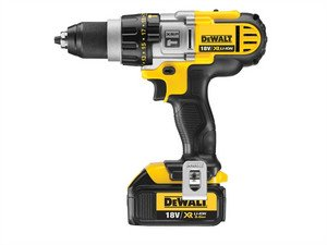 Dewalt DCD985L2 18V XR li-ion Premium 3-Speed XRP Combi Drill (2 x 3AH Batteries)
