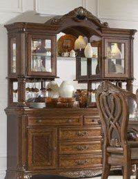Buy Low Price Homelegance Buffet & Hutch of Golden Eagle Collection by Homelegance (1437-50)