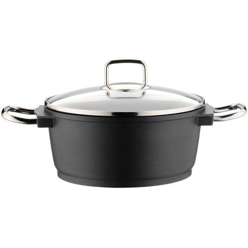 WMF Bueno Non-stick Cast Aluminium High Casserole Dish  ,24cm/4.2 Litre