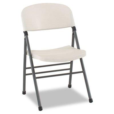 White Resin Folding Chair 3724