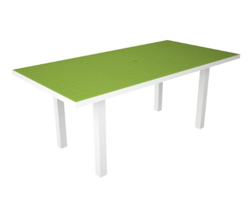 how do i get 72 recycled earth friendly patio dining table lime