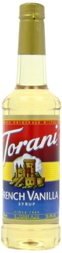Torani Syrup, French Vanilla, 25.4 Ounce (Pack of 4)