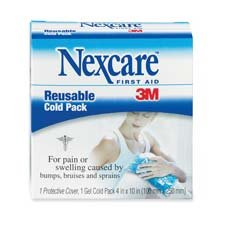 3M Commercial Office Supply Div. Products - Reusable Cold Pack, Gel-filled, 4