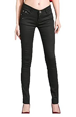 niceEshop(TM) Women Casual Pencil Skinny Leg Jeggings Jeans