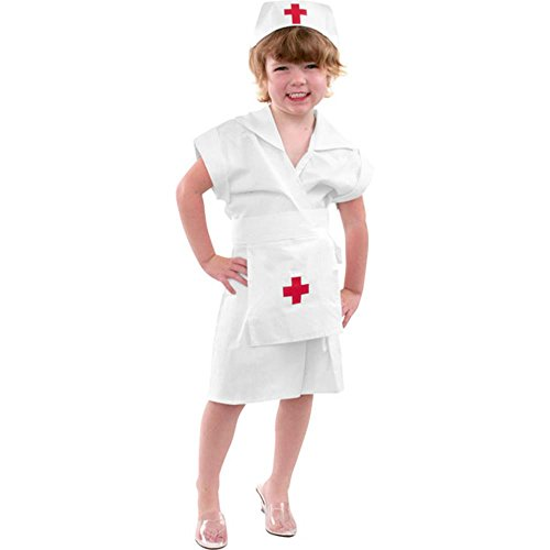 Girl's Nurse Kid's Costume (Size:X-large 12-14)