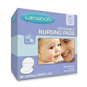 Lansinoh 20236 Disposable Nursing Pads, 36-pack