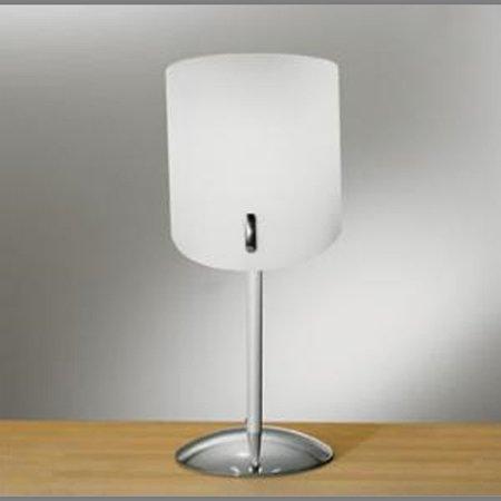 Linea Light, Marina Lumetto 1 luce Ø15cm. etro satinato con finiture cromo.