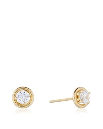 L'INSTANT D'OR Pendientes Precious Oro Amarillo