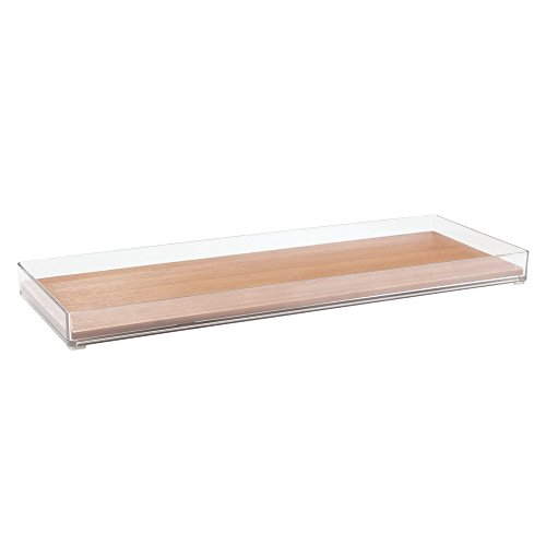 InterDesign Formbu Vanity, Tank Top Tray, Natural Bamboo (Toilet Top Tray compare prices)