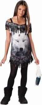 Tribal Spirit - Tween Costume - Size Medium 10-12 - 18024