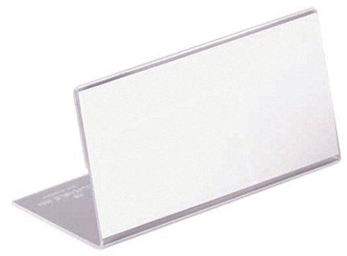 Durable-8055-Tischnamensschild-52x100mm-Acryl-VE10-Stck
