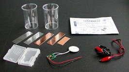 くだもの電池セット・自由研究にも人気の理科実験工作キットの画像