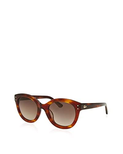 Lacoste Women's L667S Sunglasses, Tortoise/Brown