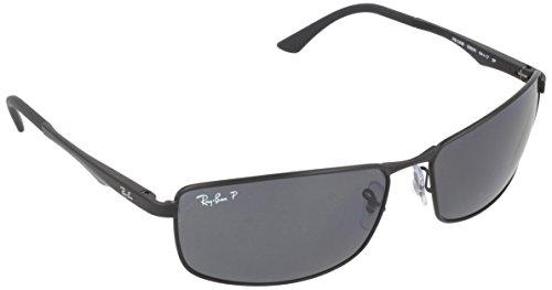 ray-ban-unisex-sonnenbrille-rb3498-gr-x-large-herstellergrosse-61-schwarz-gestell-schwarz-matt-glase