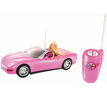 Hot Supreme Barbie Radio Control Corvette and Doll Gift Set - Cleva Edition H8' Bundle