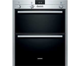Siemens IQ-100 HB13NB521B Built Under Double Oven - Stainless Steel. It Will Perfeclty Look Great Built Into Your Kitchen