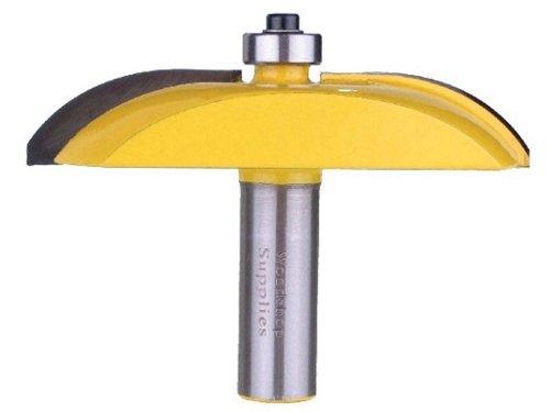 Yonico 12133 Raised Panel Router Bit With Cove Door 3 1 8