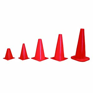 Buy Amber Sporting Goods Agility Cone Set (10 Sets) by Amber