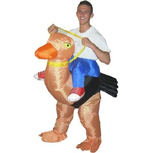 Inflatable Party Suit - Fancy Dress Costume (Ostrich)