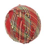 "Tea Cabin Decorative Fabric Ball #5, 1.5"" Diameter, Sold As Set Of 6"