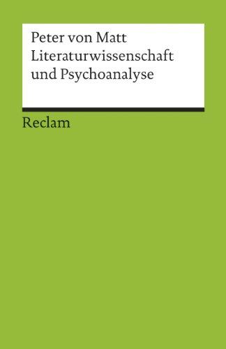 Literaturwissenschaft und Psychoanalyse