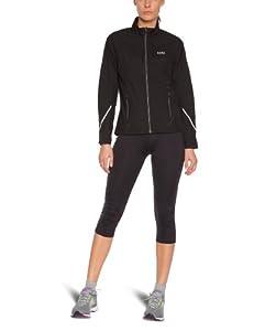 Gore Running Wear(TM) Essential Lady Veste coupe-vent/respirante femme Noir 34