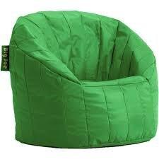 Amazon Com Big Joe Lumin Chair Green Bean Bag Chairs