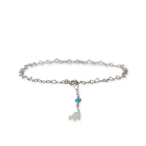 [ブルーキャット]Blue Cat シルバーアンクレット SBV740-1178