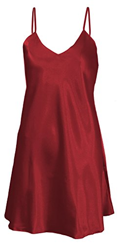 dkaren-red-luxurious-satin-chemise-nightdress-nightgown-lingerie-medium-10-uk-burgundy