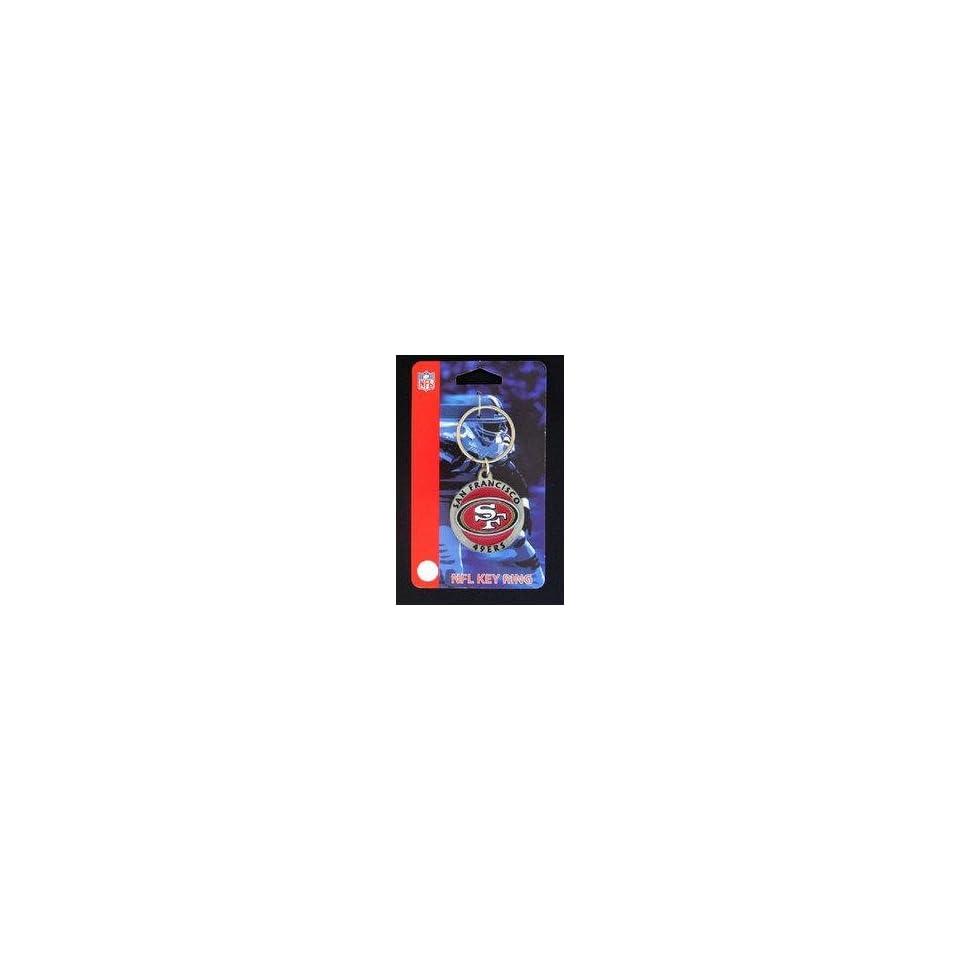 NFL Key Ring   San Francisco 49ers Logo